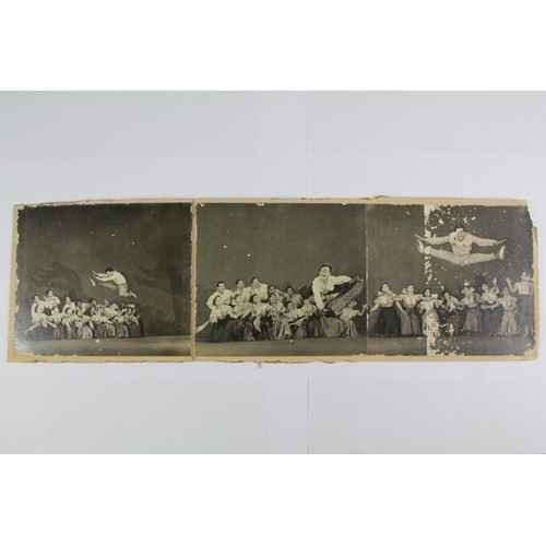 Russian cultural photographs, including the Russian ballet, ...