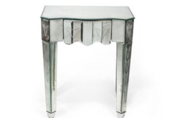 SUITE OF FOUR MODERNIST STYLE BEDSIDE TABLES