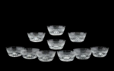 Ten Hawkes, Donisel Crystal Serving Bowls