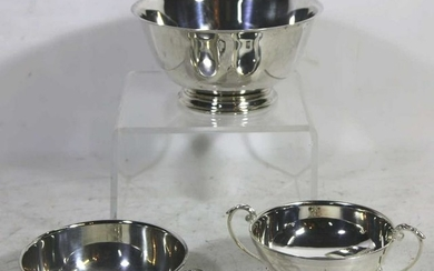 VINTAGE SILVER PLATE TABLE ARTICLES