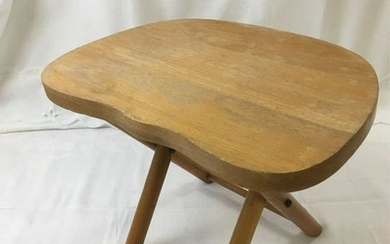 Vintage Nevco Fold And Carry Stool