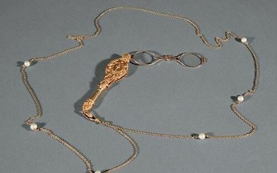 Yellow Gold Lorgnette