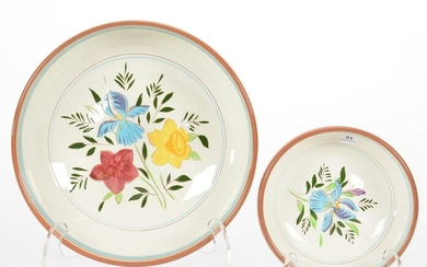 (2) Stangl Pottery Bowls, Country Garden Pattern