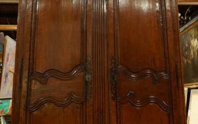 A French Provincial two door armoire circa 1760