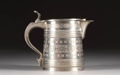 A SILVER TANKARD Russian, Moscow, 1878 The body