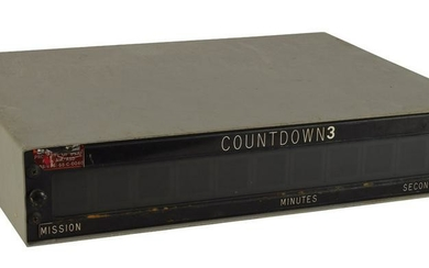 Air Force Launch Operations Countdown Clock