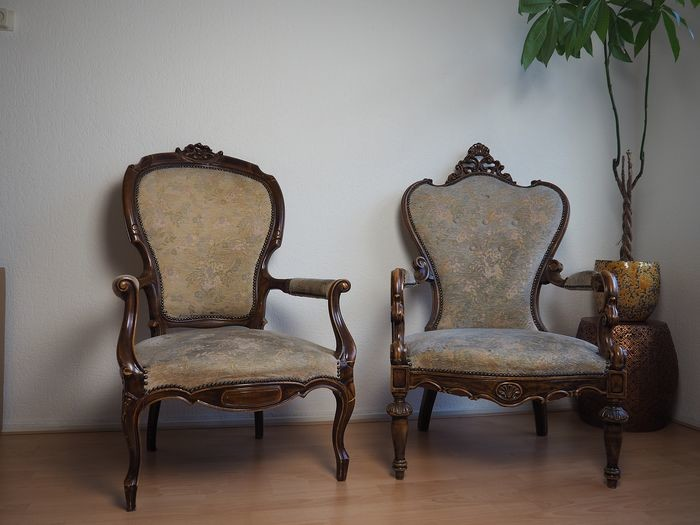 Lot Art Armchair 2 Louis Philippe