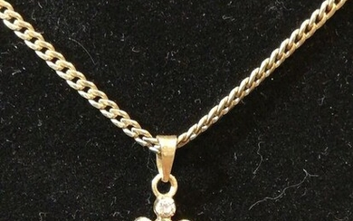 Gold, Yellow gold - Necklace, Pendant