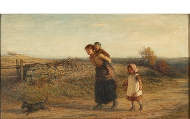 HUGH CAMERON R.S.A., R.S.W., R.O.I. (SCOTTISH 1835-1918) RUSTIC JOY