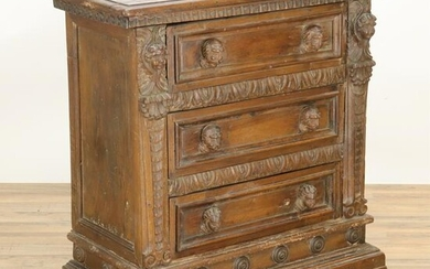 Italian Baroque Style Chest of Drawers
