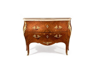 LOUIS-STYLE CURVED CHEST OF DRAWERS XV