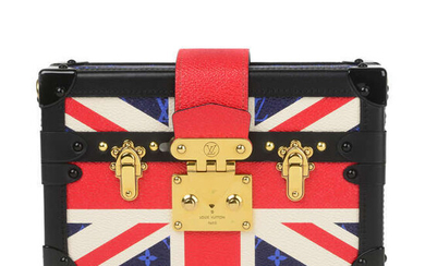 LOUIS VUITTON - a 2018 Limited Edition Harry & Meghan Royal Wedding Collection Petite Malle handbag.