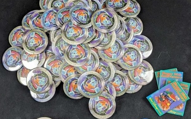 Large Retired Disney Button Lot Donald Duck