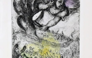 Marc Chagall 1887-1985 (Russian, French) Prise de