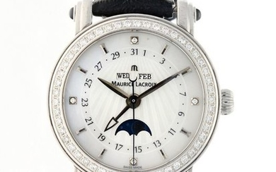 Maurice Lacroix - Masterpiece Phase de Lune Mother of Pearl Diamond - MP6347-YS101-19E - Women - 2000-2010