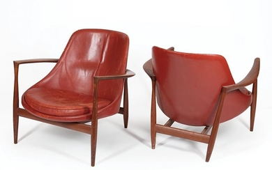 "Pair of Ib Kofod-Larsen ""Elizabeth"" Chairs"