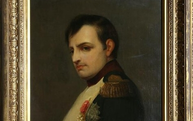 Portrait of Napoleon, Oil Painting