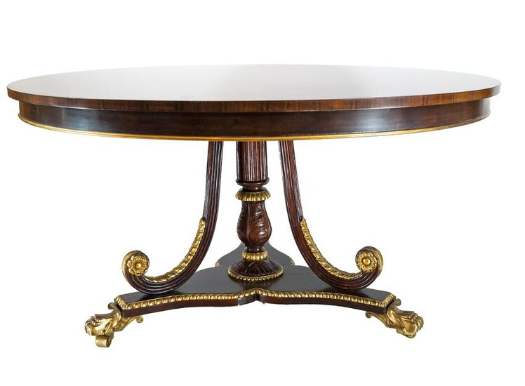 Regency-Style Round Table