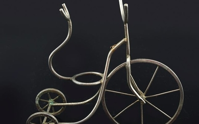 SILVER PLATED SPIRIT TRICYCLE