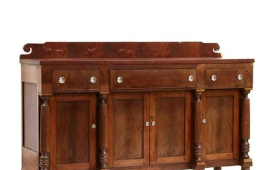Tennessee Late Classical Mahogany Sideboard