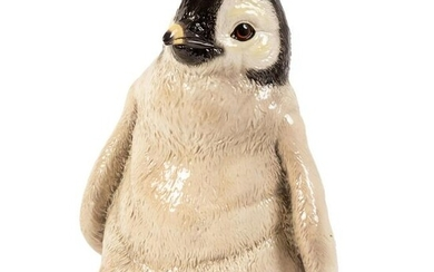 Townsend Oversized Ceramic King Penguin Sculpture