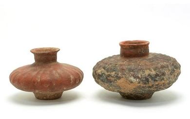 Two Pre-Columbian Pottery Vessels.