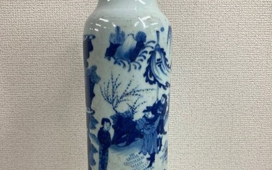 Vase - Porcelain - Ancient character stories are painted on vases - China - Late 20th century
