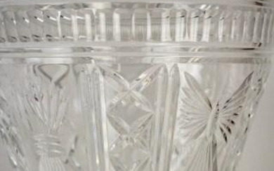Waterford Millennium Collect. Cut Crystal Bucket