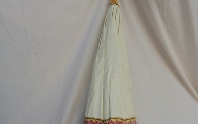 processional umbrella (1) - Textiles, Wood - 20th century