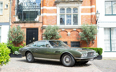 1968 Aston Martin DBS, Registration no. SJD 8F Chassis no. 400/5040/R