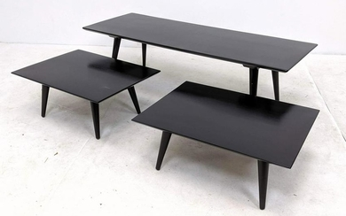3pc PAUL McCOBB Planner Group Coffee Table Side Table B