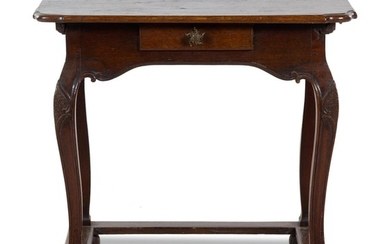 A French Oak Side Table