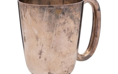 A George V silver mug, maker Harrison Brothers and Howson, S...
