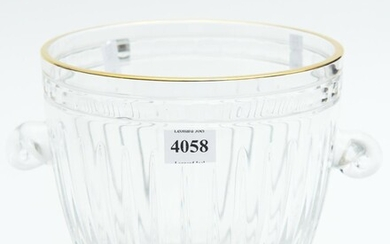 A WATERFORD MARQUIS ICE BUCKET H.17CM, LEONARD JOEL DELIVERY SIZE: SMALL, LEONARD JOEL LOCAL DELIVERY SIZE: SMALL