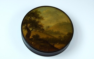 A good papier mache snuff box