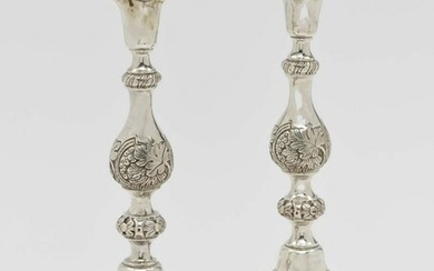 A pair of Sabbath candlesticks