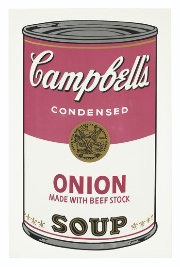 ANDY WARHOL (1928-1987), Onion, from Campbell's Soup I