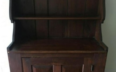 American Country Style Hutch / Sideboard