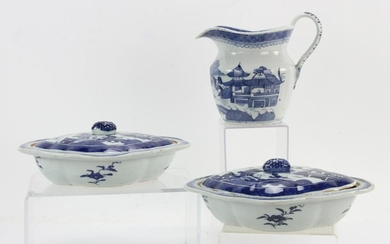 Chinese Canton Porcelain Pieces