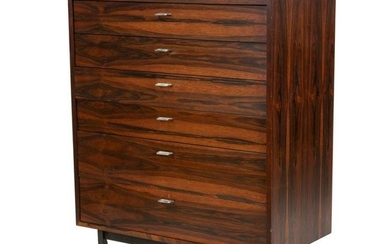 Danish Style Rosewood High Chest