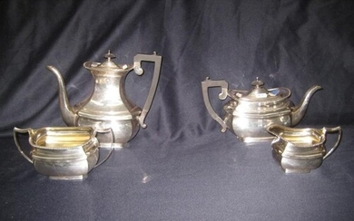 Elkinton & Co., Silver Plated 4 piece Tea Set