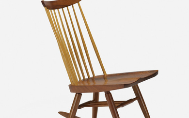 George Nakashima, New Chair Rocker without Arms