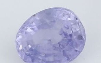 IGI Cert. 3.24 ct. Untreated Purple Sapphire MADAGASCAR