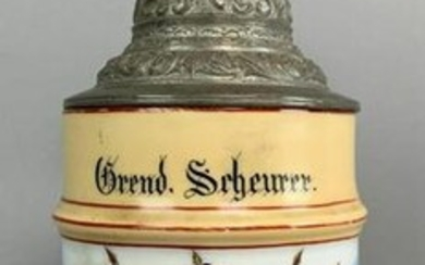 Imperial Germand Regimental Stein for Grenadier
