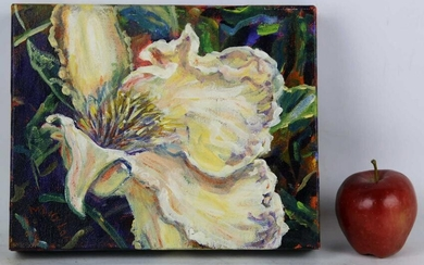 """MOLLY La FONTAINE """"LILY"""" MODERN STILL LIFE WORK"""