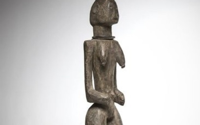 MONTOL/ANGAS, Nigeria. Female statue from the Jos plateau...