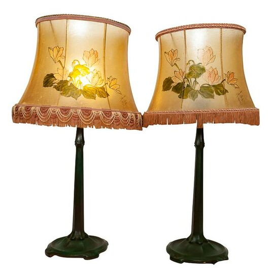 PAIR OF GRIFFE CLANC TABLE LAMPS