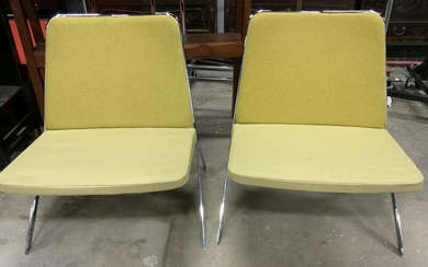 Pair STUDIO TK Keele Lounge Chairs