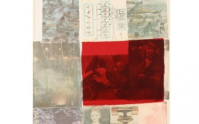 Robert Rauschenberg (American, 1925–2008), From the