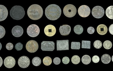 World Coins and Tokens from Various Properties